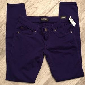 🌵New Listing🌵 NWT Express Skinny   Purple  